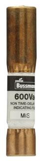 Bussmann Series MIS-2 2 Amp 600 VAC Actuator Device Fuse