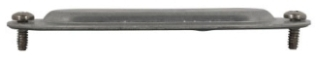 Crouse-Hinds Series 580G 1-1/2 Inch Sheet Steel Form 8 Conduit Blank Cover and Gasket