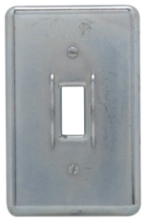 Crouse-Hinds Series DS32G 1-Gang Iron Alloy Surface Mount Device Box Square Handle Box Cover