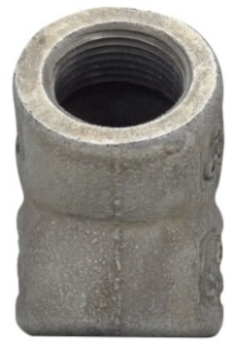 Crouse-Hinds Series EL4 1-1/4 Inch Iron Female 45 Degrees Conduit Elbow