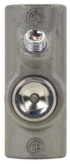 Crouse-Hinds Series EYS21 3/4 Inch Female Hub Electrogalvanized Ductile/Iron Alloy Conduit Sealing