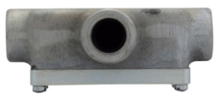 Crouse-Hinds Series OET3 SA 1 Inch Copper Free Aluminum Type OET Conduit Body and Cover