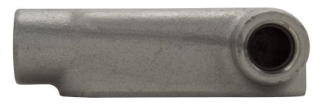 Crouse-Hinds Series LR18 1/2 Inch Iron Alloy Form8 Type LR Threaded Rigid Conduit Body