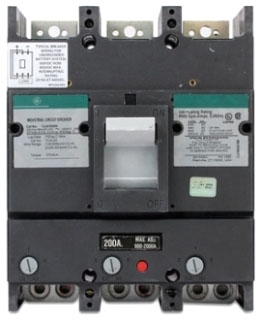 GE TJJ436250 3 POLE 600V 22K IC 250