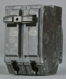 GE Industrial Solutions THQL22030 2-Pole Circuit Breaker
