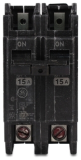 GE Industrial Solutions THQC2160 2-Pole 120/240 Volt 10 kaic 60 Amp Circuit Breaker