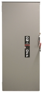 GE Industrial Solutions TG3325R 3-Pole 400 Amp 240 Volt NEMA 3R General Duty Fusible Safety Switch