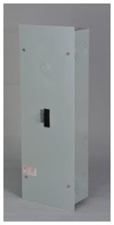GE Industrial Solutions TE150F 150 Amp NEMA Type 1 Flush Mount Circuit Breaker Enclosure