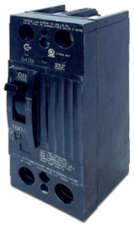 GE Industrial Solutions TQD22100X2 100 Amp 240 VAC 2-Pole Molded Case Circuit Breaker