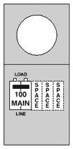 MIDWEST M101CP6 100A ENCL PULLOUT