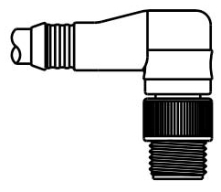 WOOD DND03A-M010 MIC 5P M/MP 1M 90D