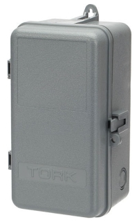 Tork 9000N 9-1/8 x 5 Inch Indoor/Outdoor NEMA 3R Non-Metal Timer Enclosure