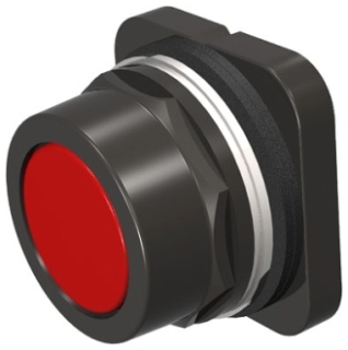 S-A 52PX8A2 PUSHBUTTON,MOM,RED,FLUS