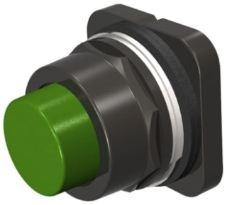 S-A 52PX8B3 PUSHBUTTON,MOM,GRN,EXTE