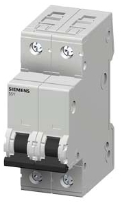 Siemens Ca 5SY4208-7 5SY4 MCB, 2P,4