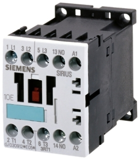 Siemens Industry 3RT1016-1AK61 110/120 VAC 9 Amp 7.5 Hp 3-Phase 3-Pole 1NO Screw Terminal IEC Contactor