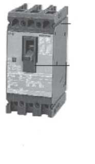 Siemens Industry ED63B060L 3-Pole 60 Amp 600 VAC 18 kA Molded Case Circuit Breaker