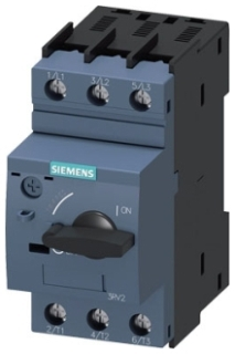 Siemens Industry 3RV20211FA10 3-Pole 690 Volt 3.5 to 5 Amp 3-Phase Thermal Magnetic Circuit Breaker