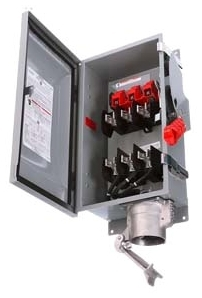 Siemens Industry HNF363JCH 600 VAC 100 Amp 3-Pole 3-Wire NEMA 3R/3S/12 Heavy Duty Non-Fusible Safety Switch