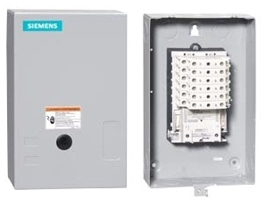 Siemens Industry LCE01C010120A 110/115 to 120 VAC 30 Amp 10-Pole 10NO NEMA 1 Electrically Held Lighting Contactor