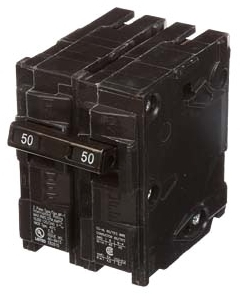 Siemens MP245 2-Pole 120/240 VAC 45 Amp 10 kA Plug-In Common Trip Circuit Breaker