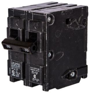 Siemens MP280 2-Pole 120/240 VAC 80 Amp 10 kA Plug-In Common Trip Circuit Breaker