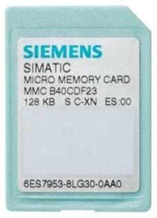 Siemens Industry 6ES79538LJ300AA0 512 kB Flash EPROM Micro Memory Card
