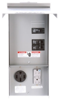 Siemens Industry TL17US 125 Amp Galvanized Steel Power Outlet Panel