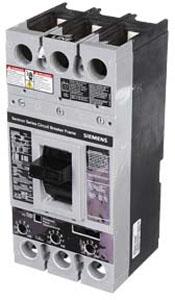 Siemens Industry HFD63F250 600 VAC/500 VDC 70 to 250 Amp 3-Pole 25 kA Circuit Breaker Frame