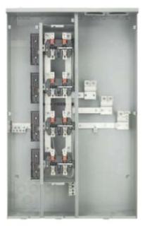 S-A WP6611 PAKMTR 600A 6G 1PH 125A