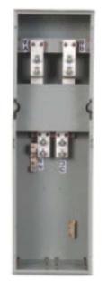 Siemens Industry WTB11600CU 120/240 VAC 1600 Amp 1-Phase 3-Wire 100 kA Meter Center Tap Box Module