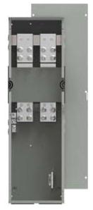 Siemens WTB3800CU 240 VAC 800 Amp 3-Phase 4-Wire 100 kA Meter Center Tap Box Module