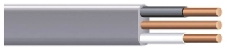 Southwire 13054255 14 AWG 2-Conductor 423 x 168 Mil 250 Foot 600 Volt 15 Amp Copper/PVC UF-B Underground Feeder Cable