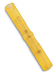 Thomas & Betts 2RZZ 26 to 22 AWG 1.22 Inch Yellow Electrotinned Copper Nylon Insulated Aircraft Splice