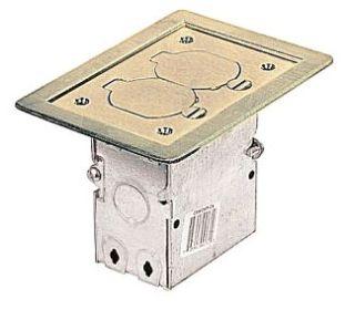STL-CTY 71W-DS-N FLOOR BOX