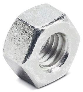 Superstrut E145-1/2EGC 1/2 Inch Hex Nut