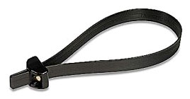 Deltec TYD5135M .5 Inch Width 14 Inch Double-Lock Cable Tie