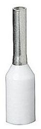 Thomas & Betts F2021 20 AWG 0.531 Inch White Electrotinned Copper Nylon Insulated Ferrule