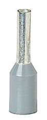 Thomas & Betts F2024 18 AWG 0.551 Inch Gray Electrotinned Copper Nylon Insulated Ferrule