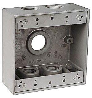 PERF-L LTX14-6 2G WP 6H 3/4 AL BOX