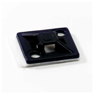 Ty-Rap TC5344AX 3/4 Inch Adhesive Black Mounting Base Cable Tie