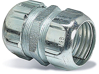 Thomas & Betts 8120 1/2 Inch Threadless Coupling