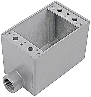 Thomas & Betts AFS-1 1-Gang 1/2 Inch Aluminum 1-Hole Dead End FS Box