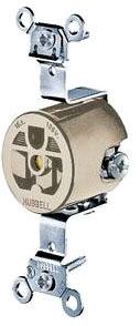 HWDK HBL5251AL RECEP 15A 120V SINGL