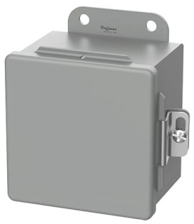 Hoffman A16106CH 16 x 10 x 6 Inch Gray 14 Gauge Steel NEMA 12 Junction Box