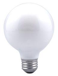 Sylvania Ecologic 14146 120 Volt 25 W 100 CRI 145 lm Soft White E26 Medium Base G25 Incandescent Globe Lamp
