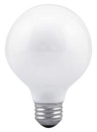 Sylvania Ecologic 14148 120 Volt 40 W 100 CRI 265 lm Soft White E26 Medium Base G25 Incandescent Globe Lamp