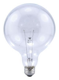 Sylvania Ecologic 14619 120 Volt 40 W 100 CRI 350 lm Clear E26 Medium Base G40 Incandescent Globe Lamp