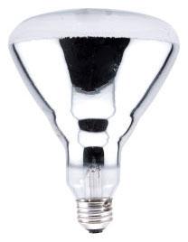 Sylvania Ecologic 15451 120 Volt 125 W Clear E26 Medium Skirted Base BR40 Directional Reflector Incandescent Lamp