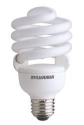 Sylvania 29747 33 W 82 CRI 2700 K 600 lm Medium Base Twist Electronic Compact Fluorescent Lamp